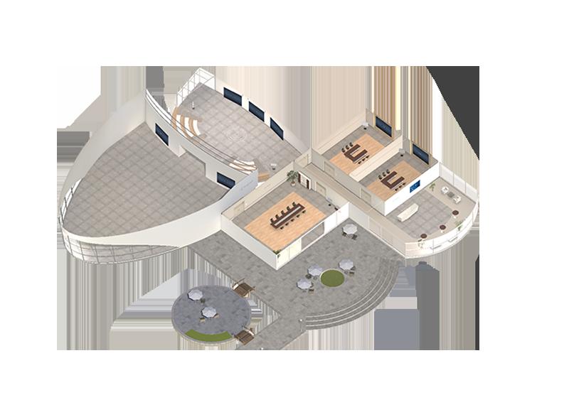 Online-Seminare in der virtuellen 3D Lernumgebung die Premiumlernwelt
